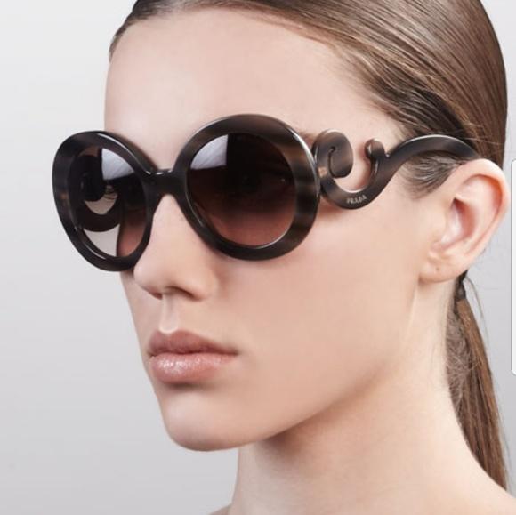 6c376b24a774 ... where can i buy with original receipt prada baroque sunglasses 1f472  fa96c